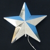 Item # 105651 - Silver Star Vapor LED Tree Topper