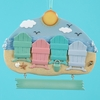 Item # 105657 - Beach Family Of 4 Christmas Ornament
