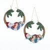 Item # 105664 - Santa In Hammock Christmas Ornament