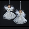 Item # 105721 - Blue/White Angel Ornament