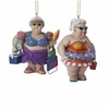 Item # 105735 - Bathing Beauties Lady Christmas Ornament