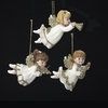 Item # 105739 - Ivory/Gold Angel Ornament