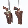 Item # 105765 - Gun In Holster Christmas Ornament