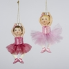 Item # 105774 - Little Ballet Girl Ornament