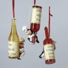 Item # 105787 - Cook With Wine Bottle Christmas Ornament