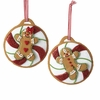 Item # 105811 - Gingerbread Girl/Boy Christmas Ornament