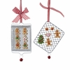 Item # 105812 - Gingerbread On Cooking Tray Christmas Ornament
