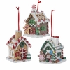 Item # 105815 - LED Gingerbread House Christmas Ornament
