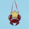 Item # 105830 - Crab Family Of 1 Christmas Ornament