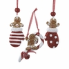 Item # 105842 - Gingerbread Boy Christmas Ornament