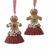 Item # 105843 - Gingerbread Boy On Baking Cup Christmas Ornament