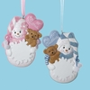 Item # 105844 - Baby's First Christmas Girl/Boy Snowman Ornament