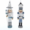 Item # 105856 - Polar Bear/Penguin Hat Nutcracker Ornament