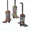 Item # 105894 - Western Boot Ornament