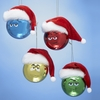 Item # 105905 - M&M's Face Ball With Hat Christmas Ornament