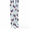 Item # 105985 - 9 Foot Long Plastic Peacock Bead Garland