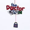 "Item # 105995 - 4.5"" Resin The Doctor Is In Christmas Ornament"