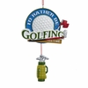 "Item # 106001 - 5.75"" I'd Rather Be Golfing Christmas Ornament"