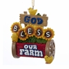 Item # 106016 - God Bless Our Farm Ornament