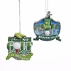 "Item # 106018 - 3-3.25"" Resin Golf Sign Christmas Ornament"