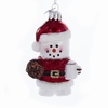 Item # 106083 - Marshmallow Santa Ornament