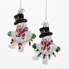 Item # 106084 - Snowman With Garland Ornament