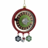 Item # 106105 - Roulette Wheel With Dice and Chips Ornament