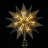 Item # 106114 - 14 Point Smoke Star Tree Topper With 10 Lights