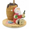Item # 108786 - Picnic Santa Ornament