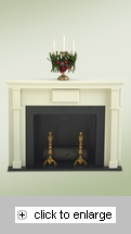 Item # 113284 - Fireplace Byers Choice Collectible