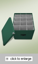 Item # 113401 - Byers' Choice Caroler Condo Storage Box
