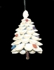 Item # 115002 - Glittered Shell Tree Ornament