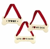 Item # 117102 - Dog Biscuit Christmas Ornament