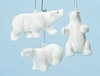 "Item # 134336 - 5"" Polar Bear Christmas Ornament"