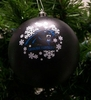Item # 141007 - Carolina Panthers Shatterproof Christmas Ornament