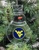 Item # 141008 - West Virginia University Mountaineers Snowman Ornament