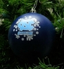 Item # 141010 - University of North Carolina Tar Heels Shatterproof Christmas Ornament