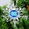 Item # 141021 - University of North Carolina Tar Heels Snowflake Christmas Ornament