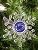 Item # 141024 - Penn State University Nittany Lions Snowflake Christmas Ornament
