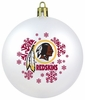 Item # 141081 - Washington Redskins Shatterproof Christmas Ornament