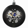 Item # 141105 - Baltimore Ravens Shatterproof Christmas Ornament