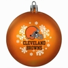 Item # 141108 - Cleveland Browns Shatterproof Christmas Ornament