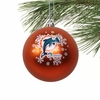 Item # 141112 - Miami Dolphins Shatterproof Christmas Ornament