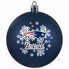 Item # 141114 - New England Patriots Shatterproof Christmas Ornament