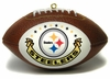 Item # 141135 - Pittsburgh Steelers Mini Football Christmas Ornament