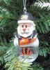 Item # 141144 - Cincinnati Bengals Santa Snow Globe Christmas Ornament