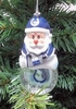 Item # 141162 - Indianapolis Colts Santa Snow Globe Christmas Ornament