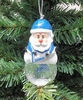 Item # 141177 - Detroit Lions Santa Snow Globe Christmas Ornament