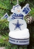 Item # 141198 - Dallas Cowboys LED Snowman Christmas Ornament
