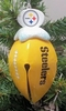 Item # 141212 - Pittsburgh Steelers Football Bell Ornament